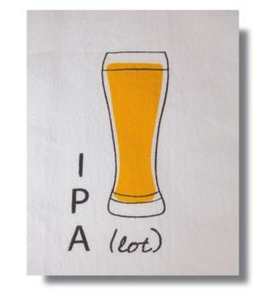 Bar Towel, Beer, IPA