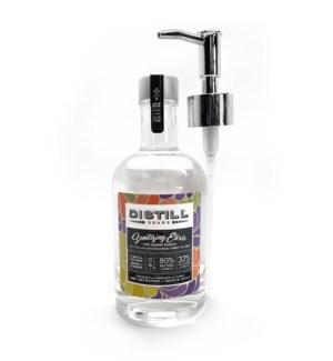 Sanitizing Elixir 375ML Glass Bottle Pump Lavender Cream