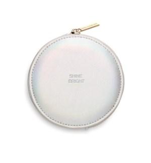 Circle Coin Purse - Irredescent
