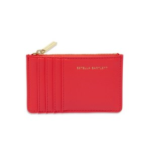 Card Purse - Coral - Imagination Rules The World
