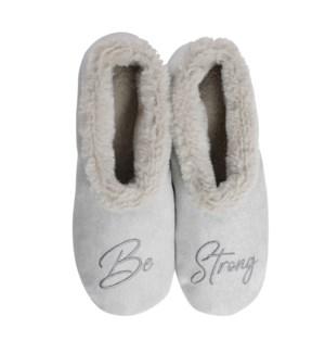 """Be Strong footsie: Grey: 12 footsie Pre-Pack 2S,5M,4L,1XL"""