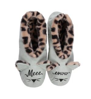 """""""Meow footsie: Aqua: 12 footsie Pre-Pack 2S,5M,4L,1XL"""""""