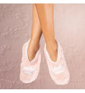 """Queen footsie: Pink: 12 footsie Pre-Pack 2S,5M,4L,1XL"""