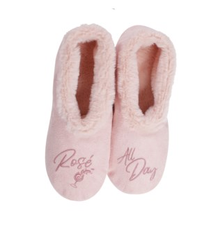 """""""Rosé footsie: Pink: 12 footsie Pre-Pack 2S,5M,4L,1XL"""""""