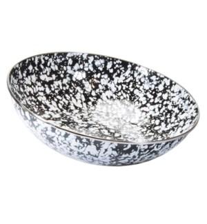 Black Swirl Catering Bowl