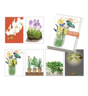Floral Blank Notecards Collection II