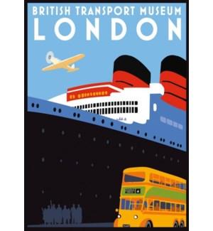Brit Transport Museum Luggage Tag