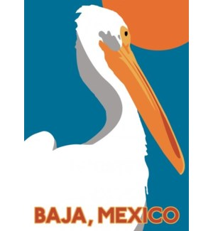 Baja Mexico Luggage Tag