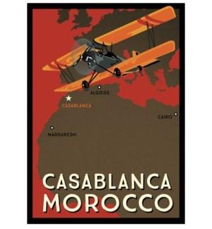 Casablanca Luggage Tag