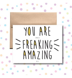 Amazing as Me Greeting Card