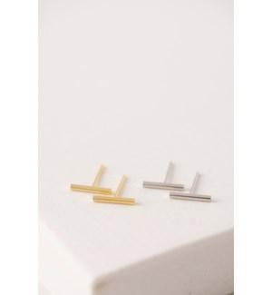 Agnes Bar Stud Earrings