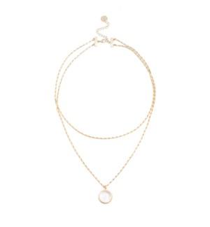 Aura Double Necklace