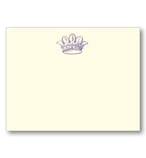 """""""French Crown (Amethyst, Ecru)"""""""