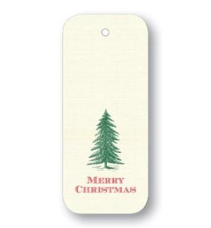 """Traditional Tree """"Merry Christmas"""""""
