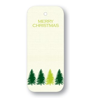 """""""Tree Line """"""""Merry Christmas"""""""" Forest"""""""