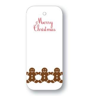 """Gingerbread Men """"Merry Christmas"""""""