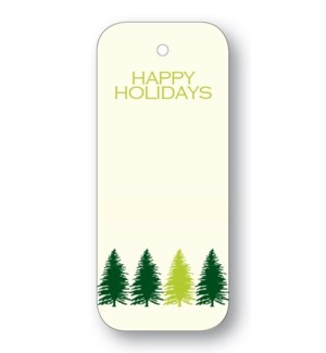 """""""Tree Line """"""""Happy Holidays"""""""" Forest"""""""