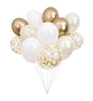 Beautiful Balloons Gold