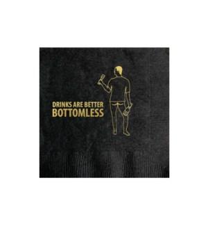 Bottomless Drinks napkin