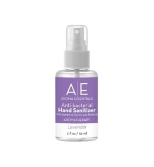 "2oz  Lavender ""Spray Top ""Hand Sanitizer"