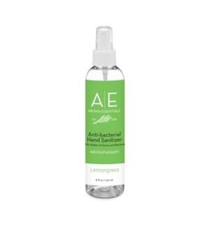 """8oz Lemongrass """"Spray Top"""" Hand Sanitizer"""