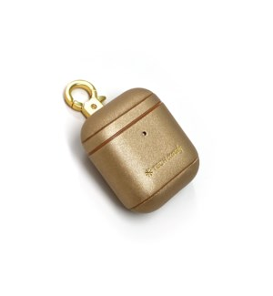 Mixed Metals AirPods Case Gold