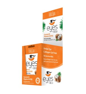 COCONUT WITH VITAMIN D EYES 10 PACKS - 30 MASKS