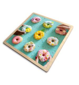 9 Donuts Display