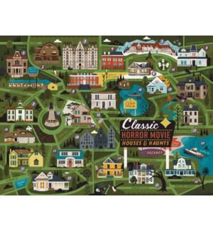 CLASSIC HORROR MOVIE MAP