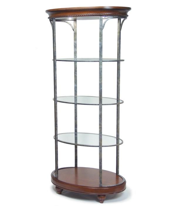 Regency Display, with Glass