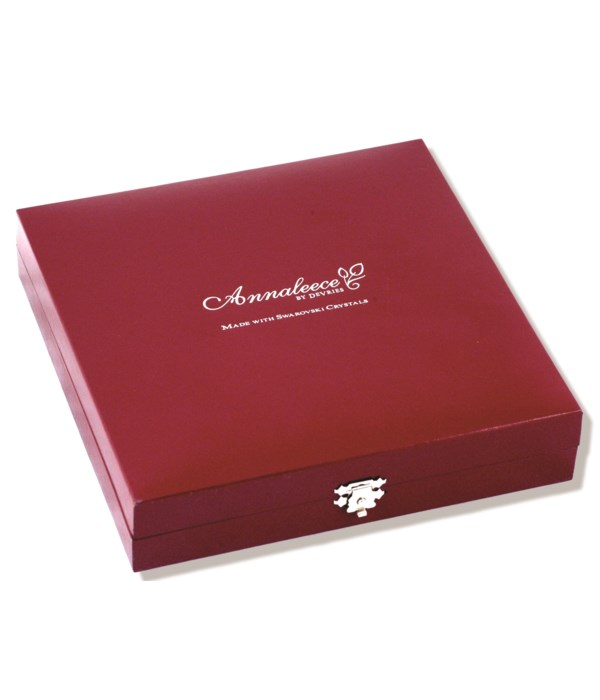 Large Leatherette Box (For Necklaces and Earrings)