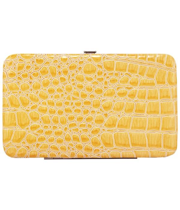Flat, Yellow Croc
