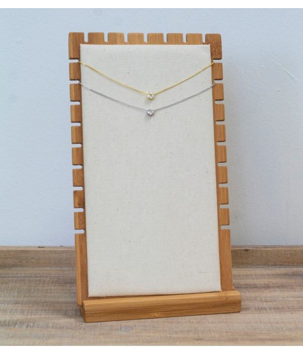 Slotted Necklace Display