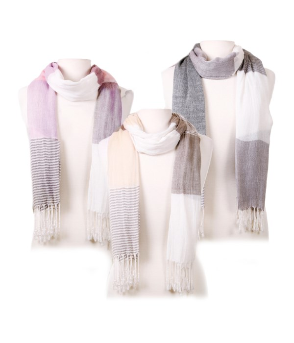 Cosmo Scarf Collection  (2 ea of 3 @ 6.00 ea)