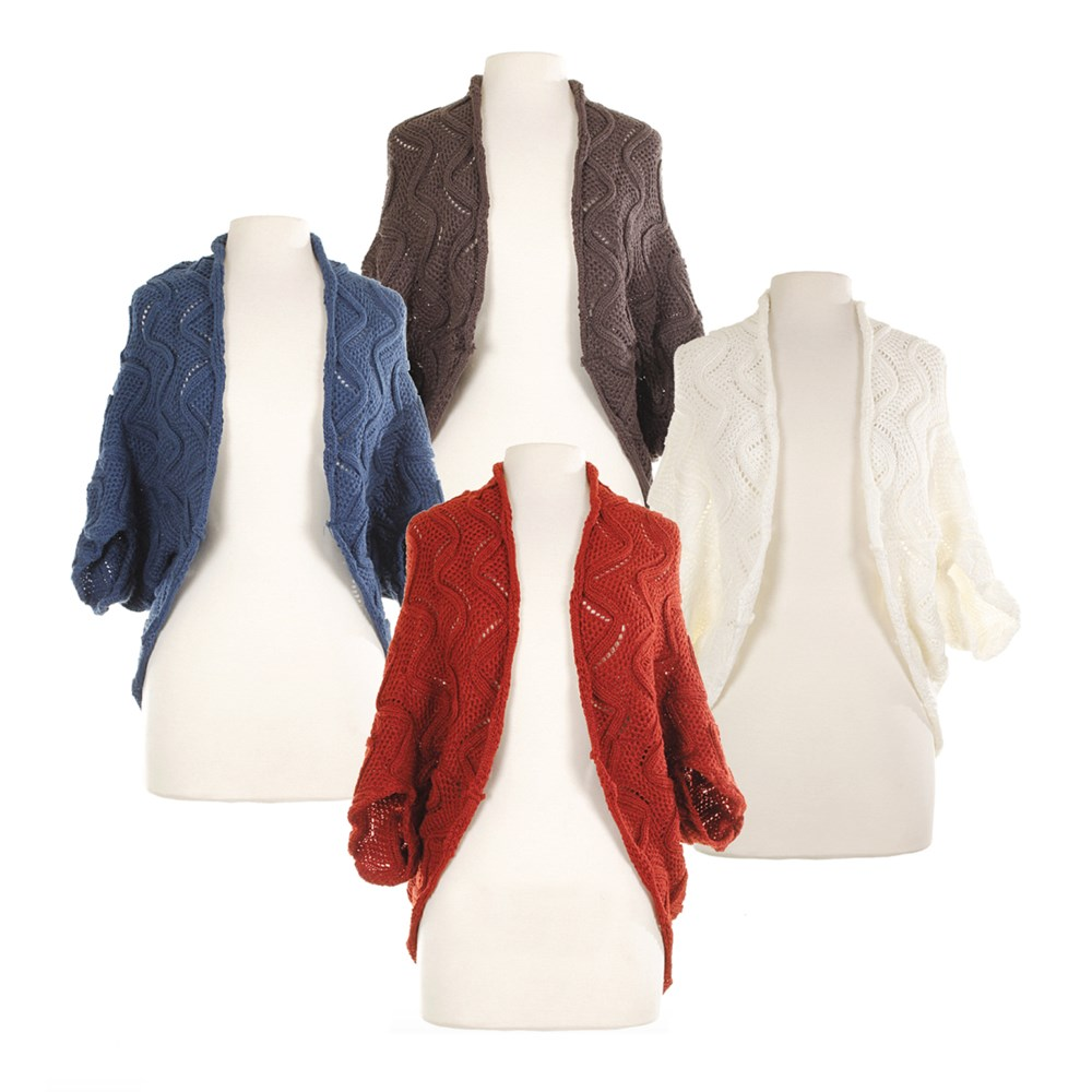 Wave Shrug Collection