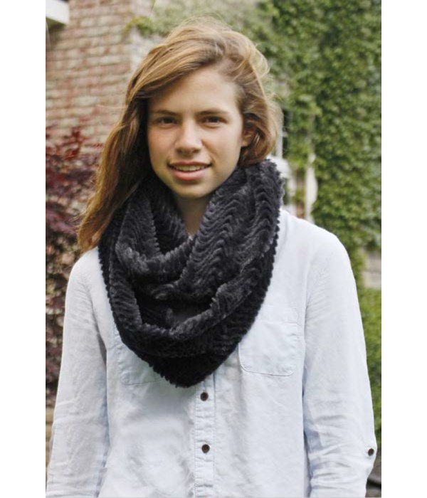 Wave Chinchilla Infinity Scarf Collection (2ea of 3 @ 6.25ea)