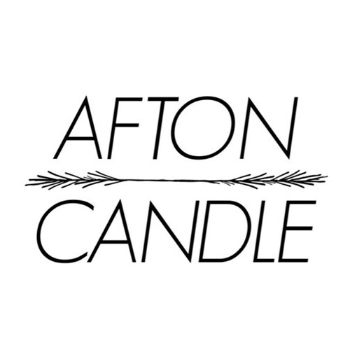 AFTON CANDLE with Spiral Light
