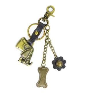 Metal Charming Keychain - Dog