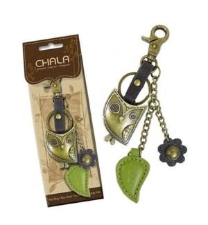 Metal Charming Keychain - Owl