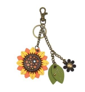 Mini Keychain - Sunflower