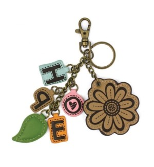 Charming Charms Keychain - Daisy+HOPE - white