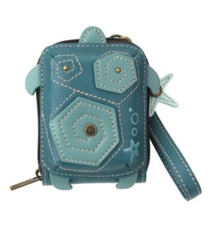 Cute-C - Credit Card Holder / Wallet Wristlet - Turtle