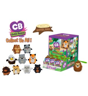 CUTIE BEANS - WOODLAND SERIES 3 - 9 ASST. BLIND BOX WITH DISPLAY WINDOW