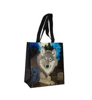 15.5IN x 13.5IN x 7IN - WOLF WATER PRINT
