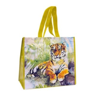 13.5IN x 15.5IN x 7IN TIGER WATER PRINT