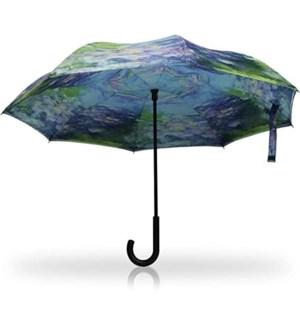 Water Lilies Stick Umbrella RC
