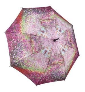 Monet's Garden Stick Umbrella