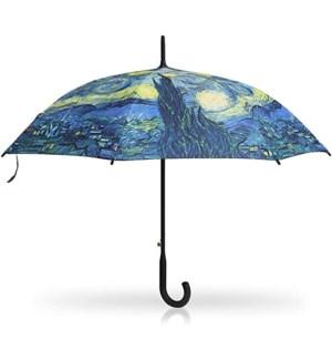 Starry Night Stick Umbrella