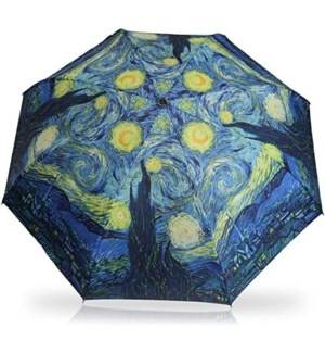 Starry Night Stick Umbrella RC