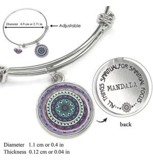 Mandala Purple- Amethyst / UPC= 684500055786